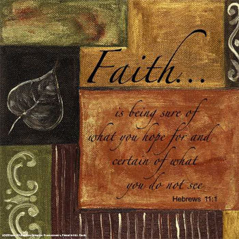 Walk by Faith-Not Fear