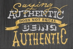 Leadership authenticity